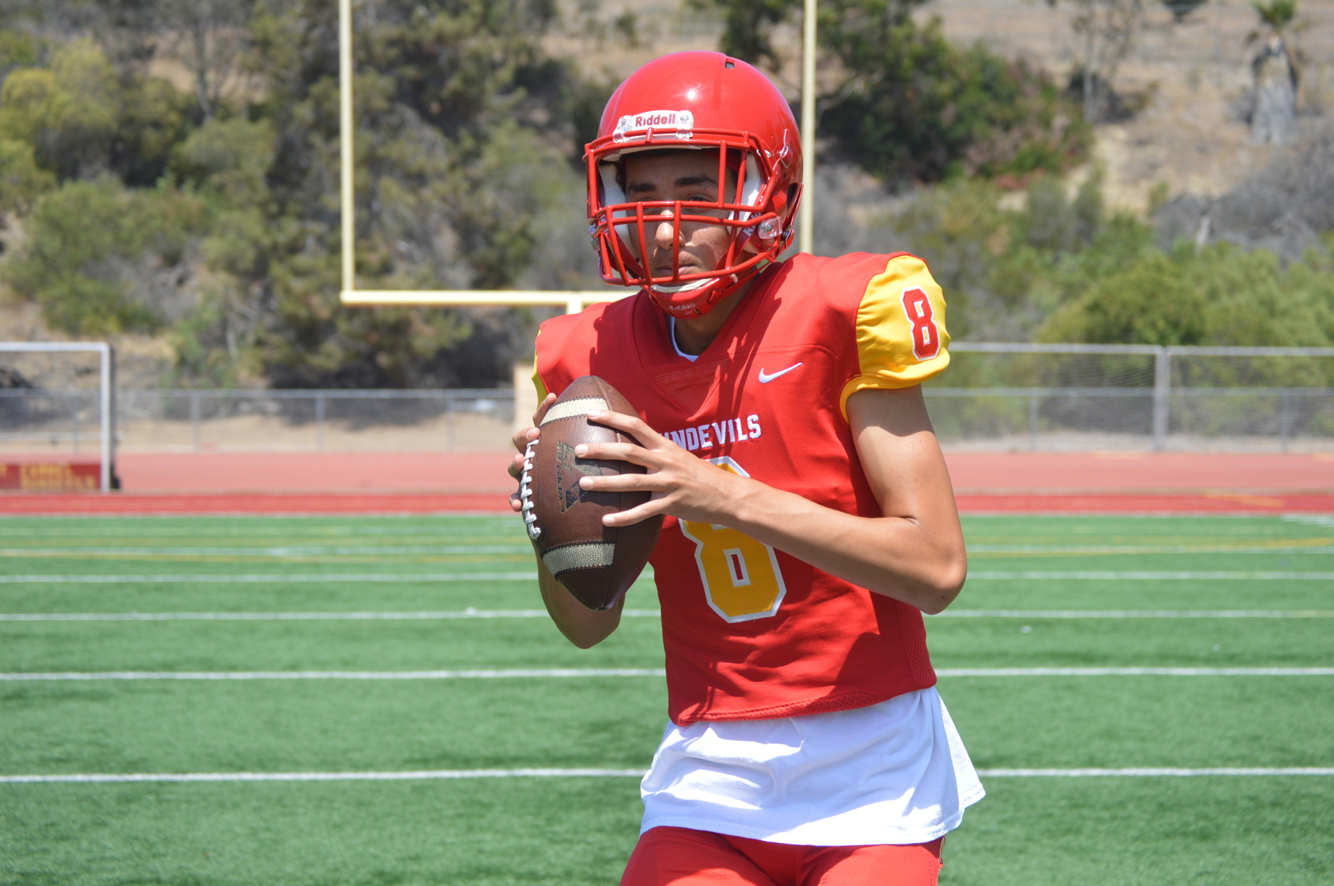 Mt Carmel High School - QB Carson Taumoepeau