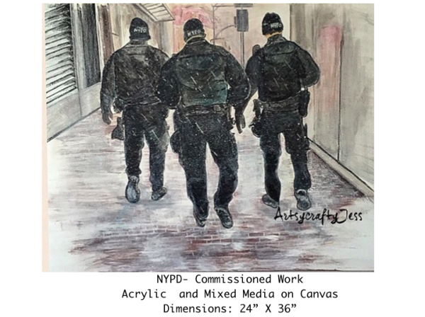 NYPD- Commissioned Work Acrylic