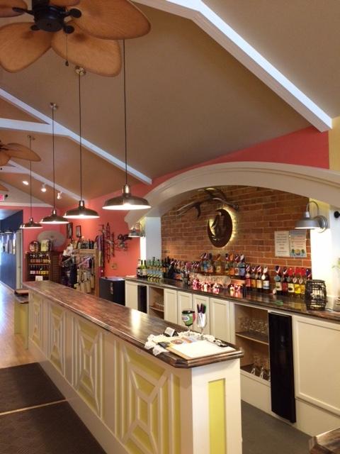 Our custom built tasting room
