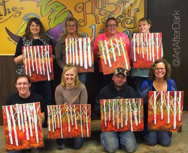 Paint and Sip Classes with Art Allure