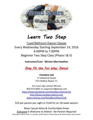 Sand Spurs Square & Contra Dance Classes