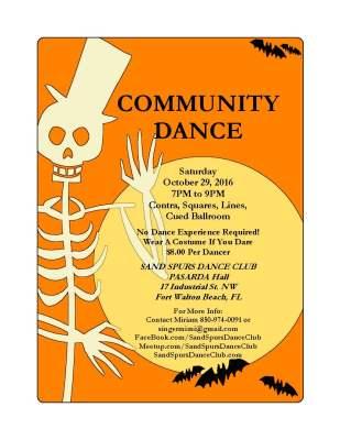 Sand Spurs Halloween Community Dance