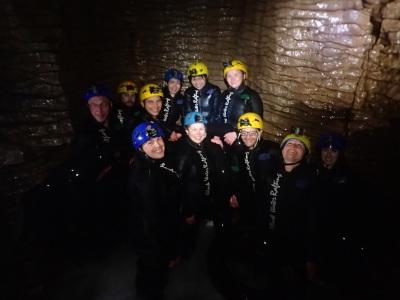 Day 138 - Black Water Rafting