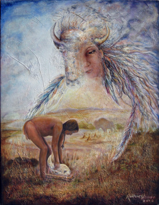 White buffalo woman, Souix Shamen, Native American