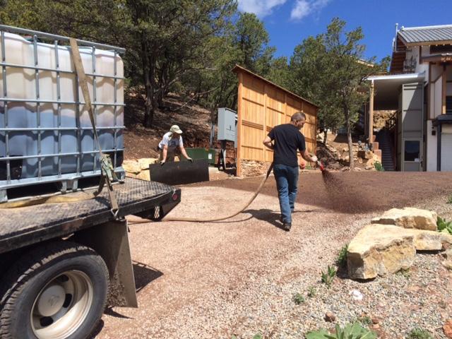 Dust Control & Road Stabilization