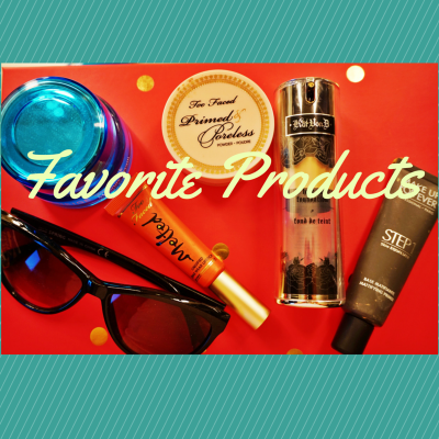 My Favourite Products