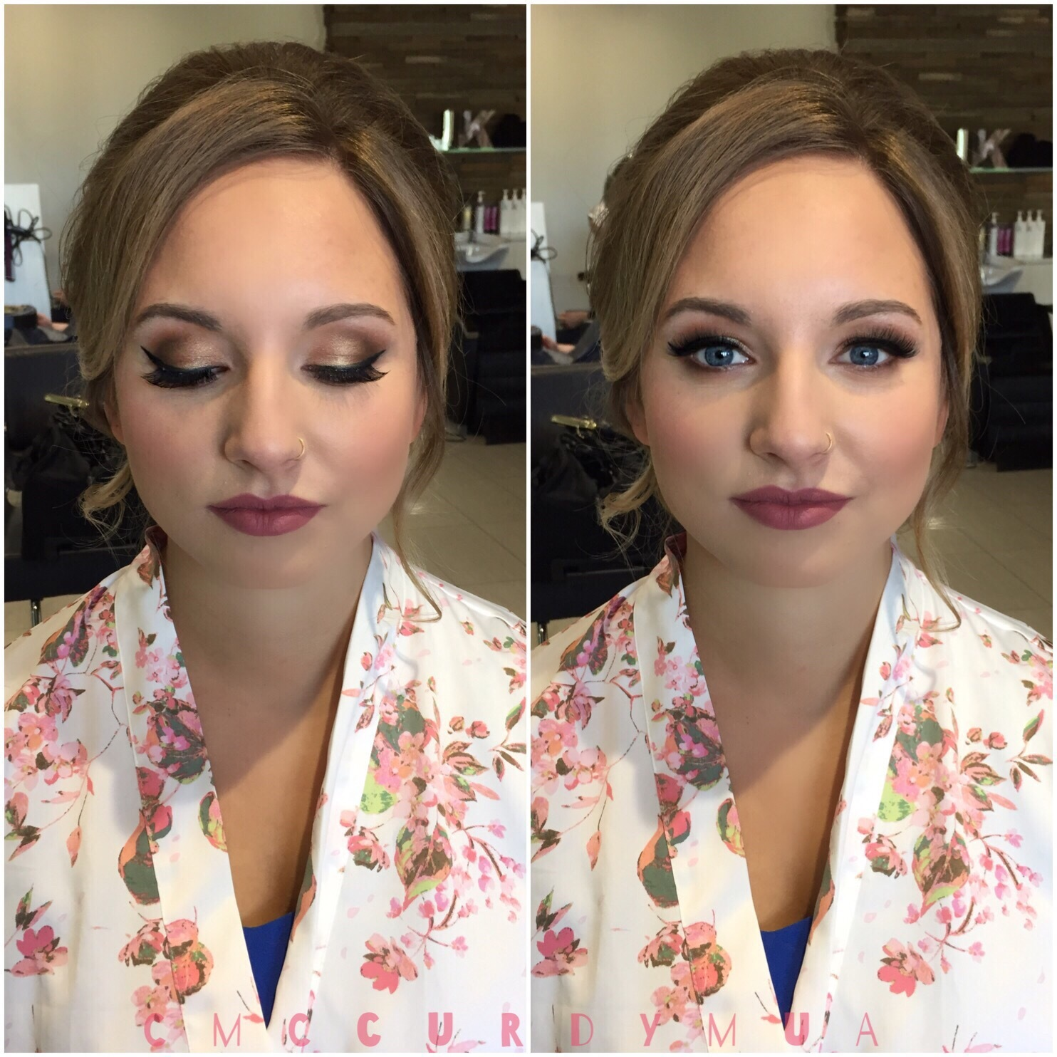 Glam Bridal Makeup
