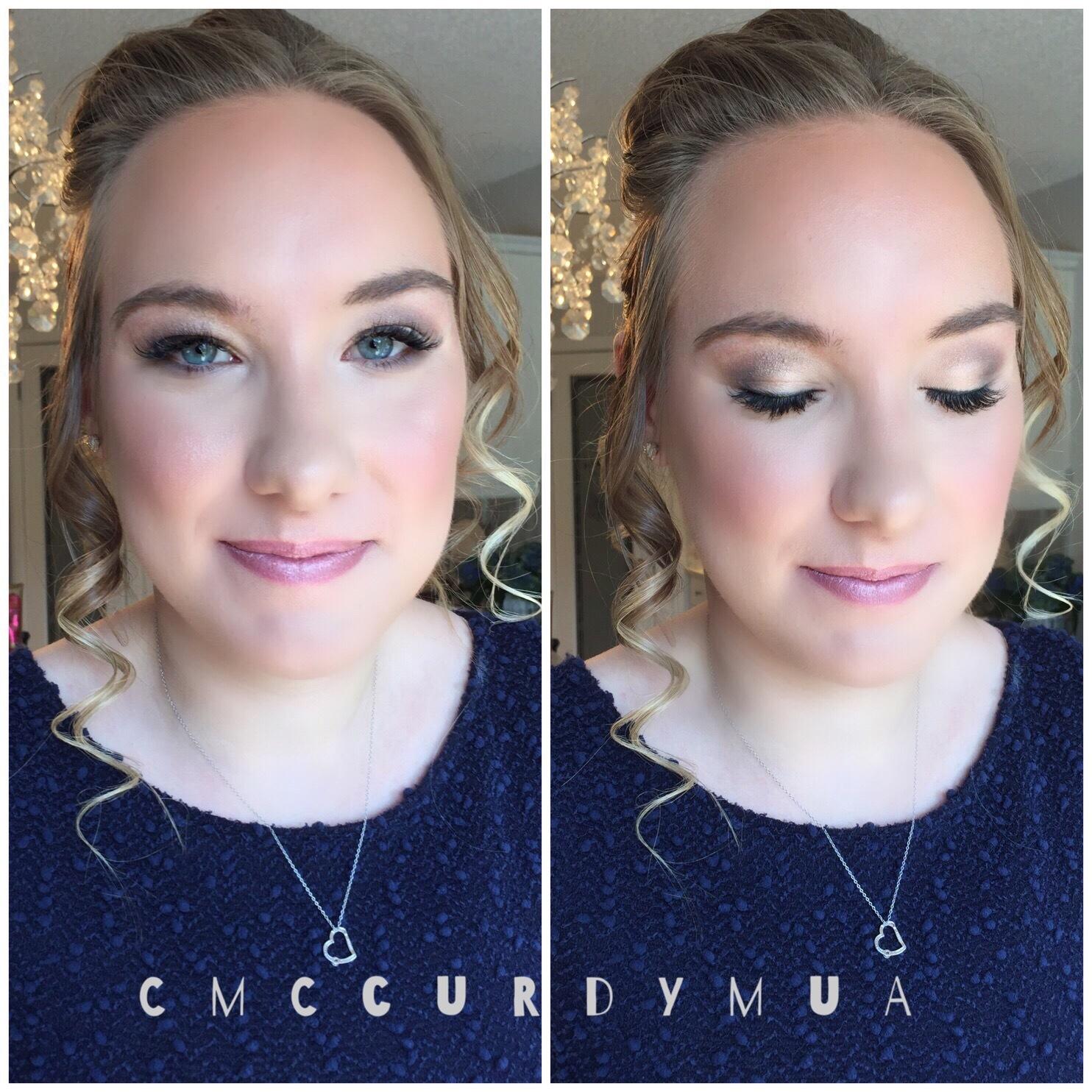 Grad Makeup & Hair