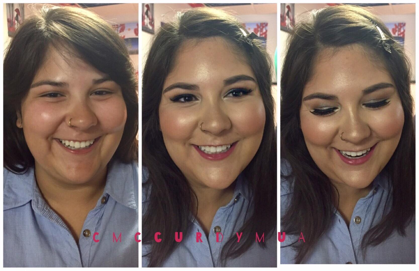 Glowy Bridal Makeup