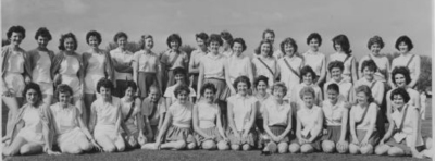 Huntley and Palmer Netball team, reading and district netball league