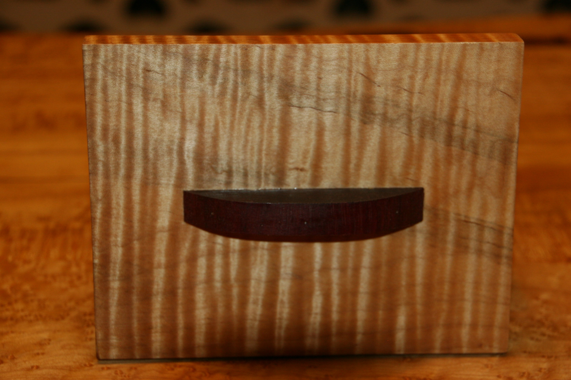 Flame Maple Box Top