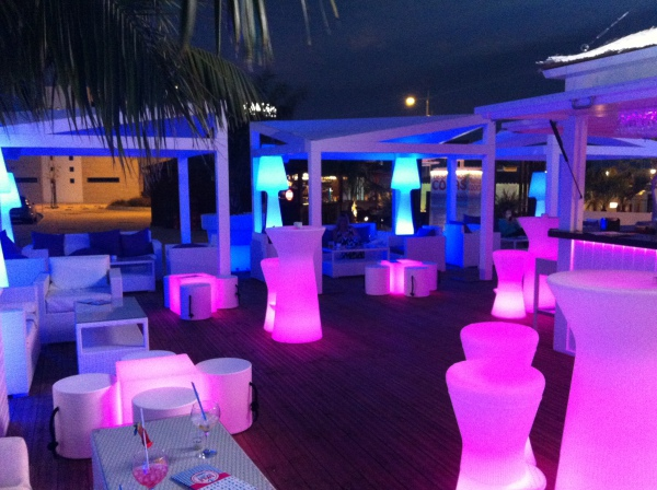 CHILL OUT BAR AT GARRUCHA PORT