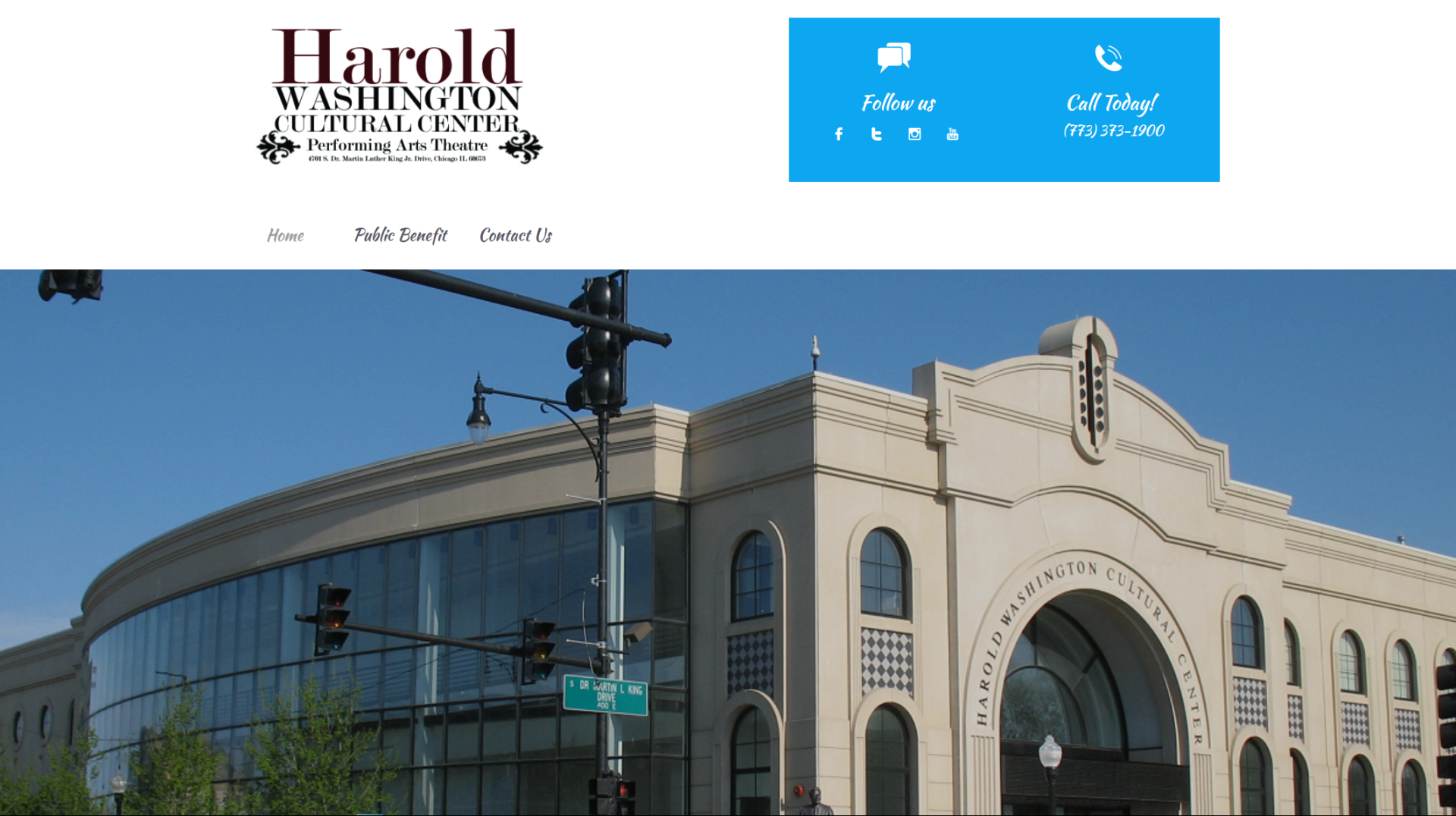 Harold Washington Cultural Center