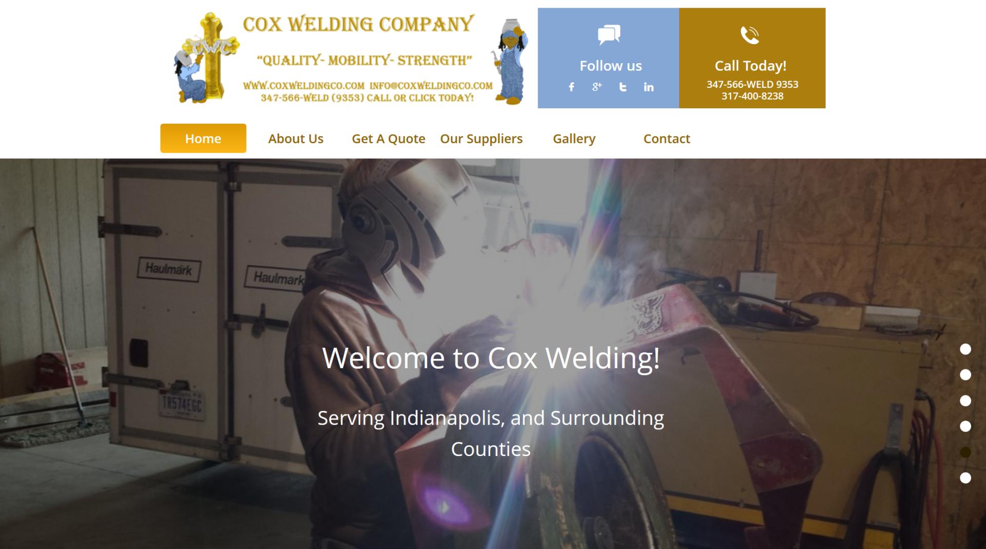 Cox Welding Company