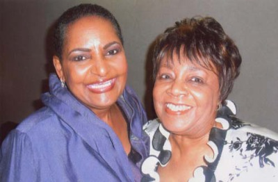 Pam & Dr. Mildred C. Harris