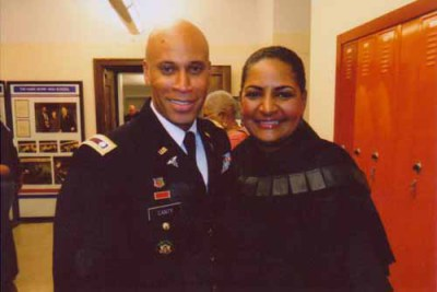 Pam and Lt. Colonel  Gregory Canty