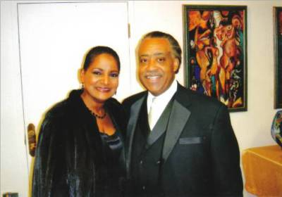 Pam & Rev. Al Sharpton