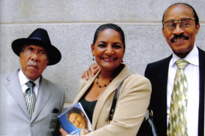 Rev. Dr. Clay Evans, Pam, Dr. Lucius Hall