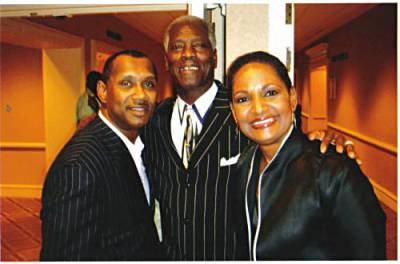 Melvin Williams, Lee Williams and Pam