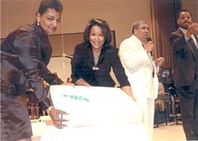 Pam, Mrs. Parker, Rev. Evans & Rev. Jesse Jackson