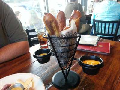 Hot Pretzel Sticks