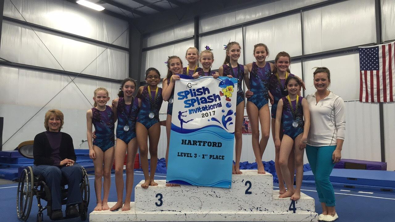 1st Place Team Finish at the 2017 Splish Splash Invitational!