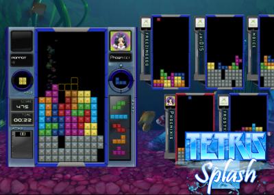 Tetris Splash on Xbox 360