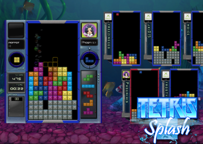 Tetris Splash on Xbox 360