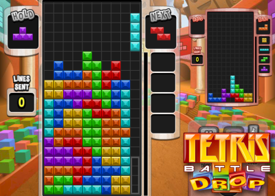 Tetris Battle Drop on Facebook