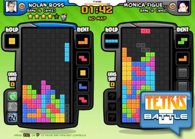 Tetris Battle on Facebook