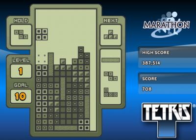 Tetris on Roku Devices