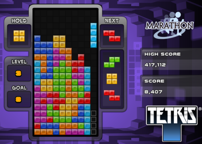 Tetris on Samsung Smart TVs (Smart Hub)