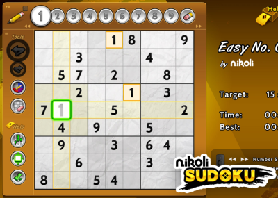 Nikoli Sudoku on Amazon Fire TV