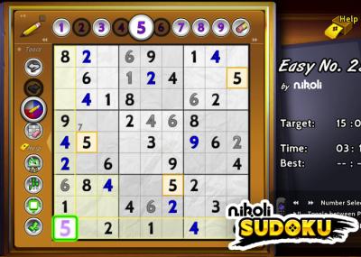 Nikoli Sudoku for Roku Devices