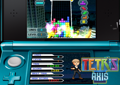 Tetris Axis for Nintendo 3DS