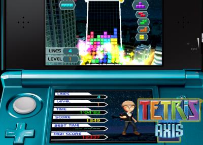 Tetris Axis for Nintendo 3DS