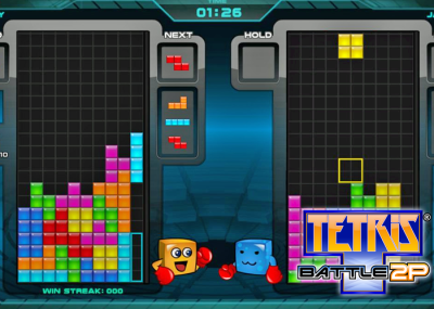 Tetris Battle 2P for Roku