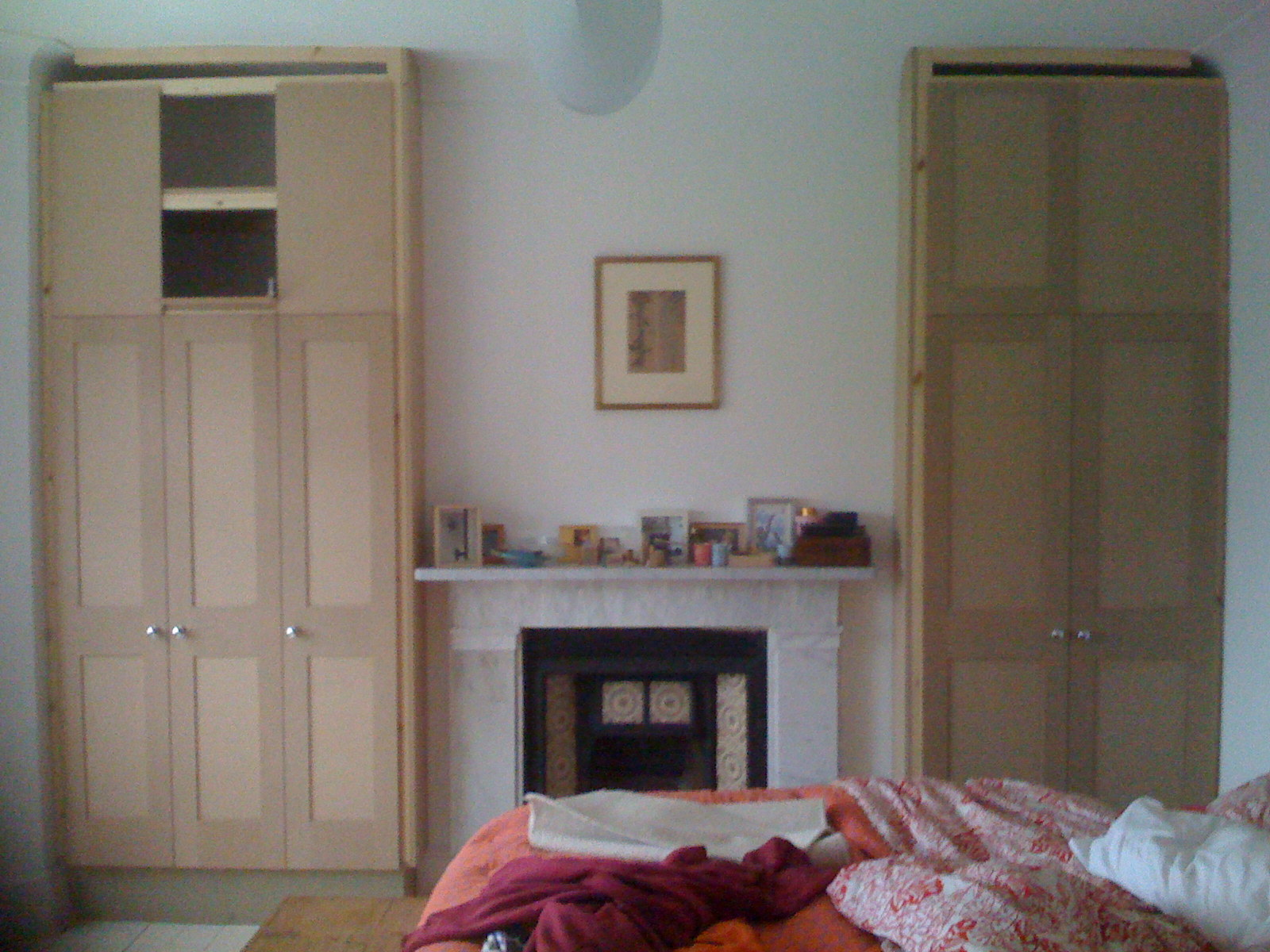 Doors in keeping with original bedroom door