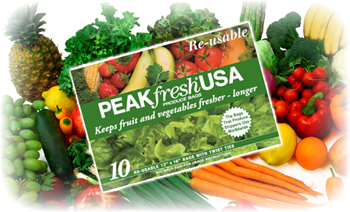 Longer Shelf Life with PEAKfresh Packaging
