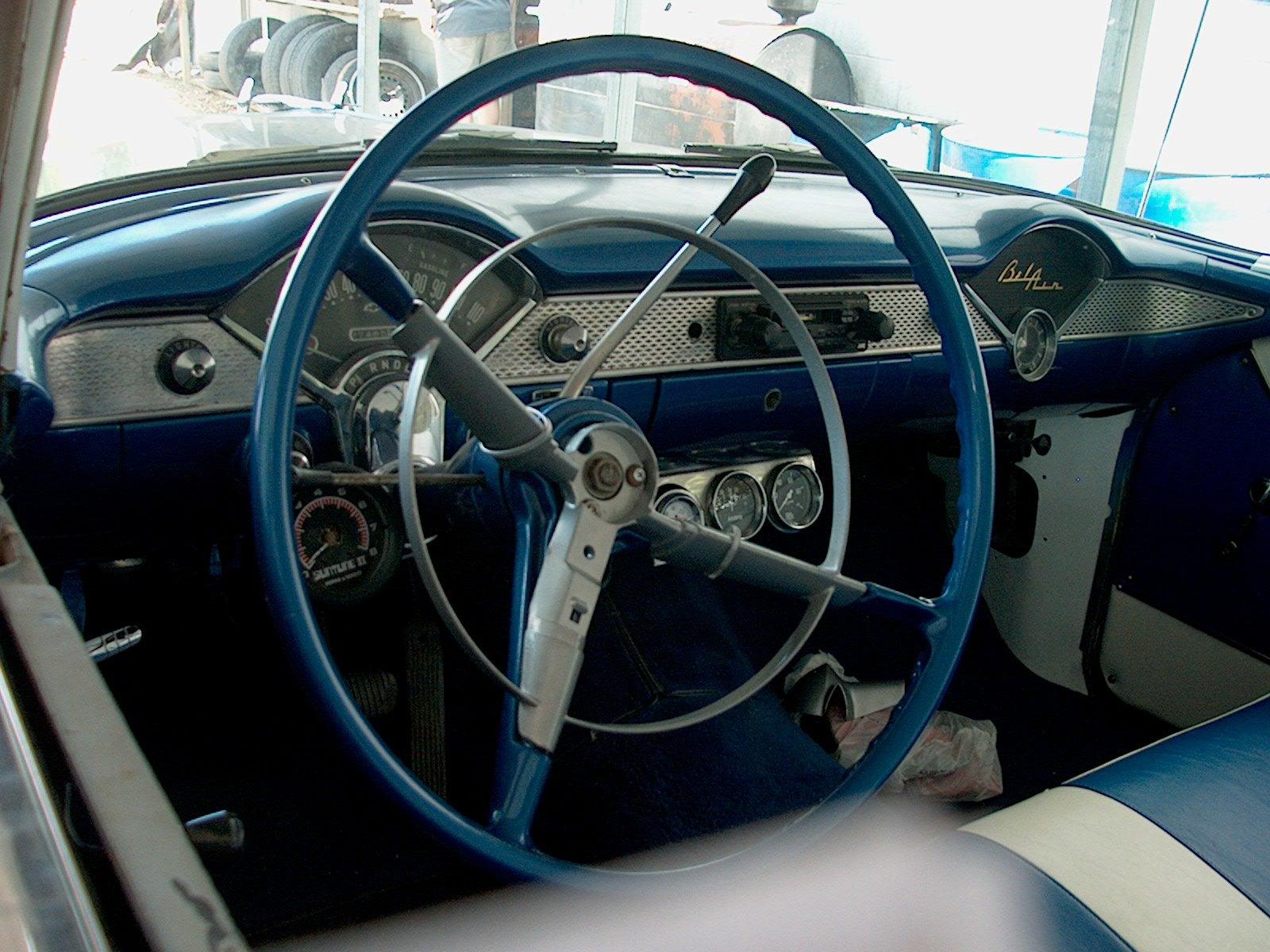 55-Chevy-steering-wheel