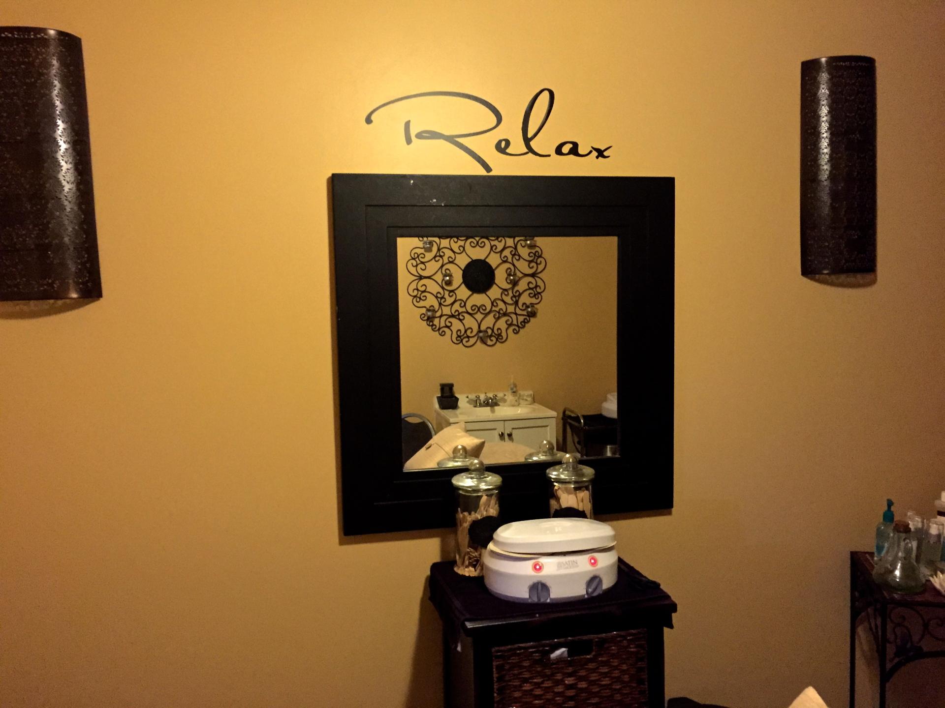 Relax, waxing, esthetics