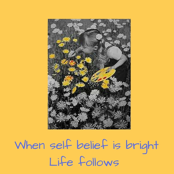 When self belief is bright