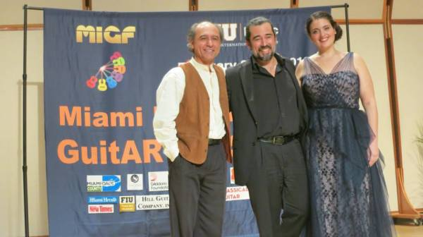 Mesut Özgen, Celso Cano, and Rebecca Benitez