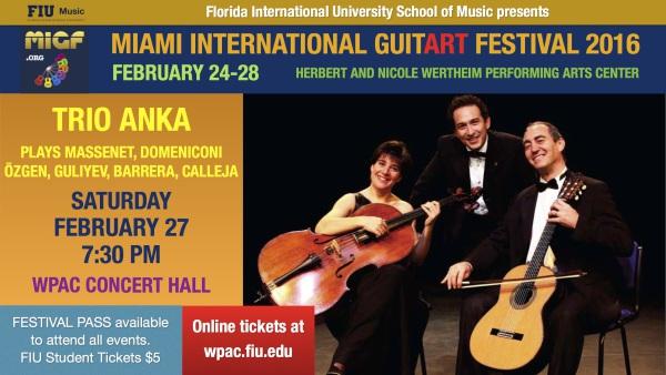 MIGF Concert: Trio Anka