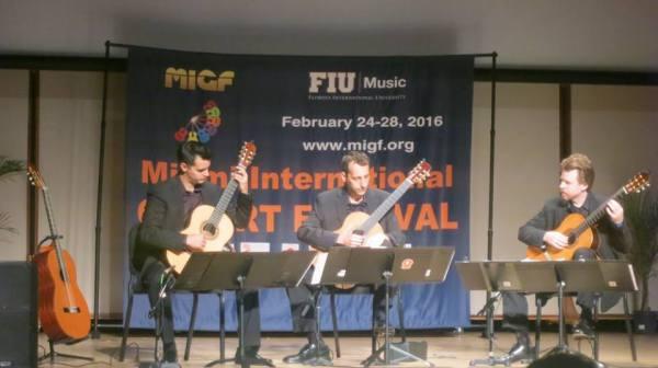 MIGF Concert: Miami Guitar Trio
