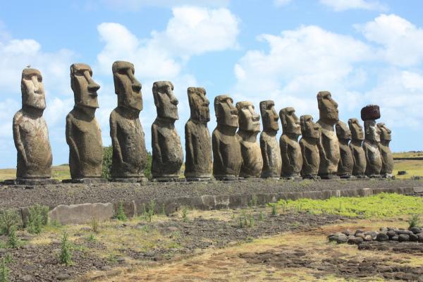 TitEaster Island picture by Arian Zwegers Easter Island, Ahu Tongariki