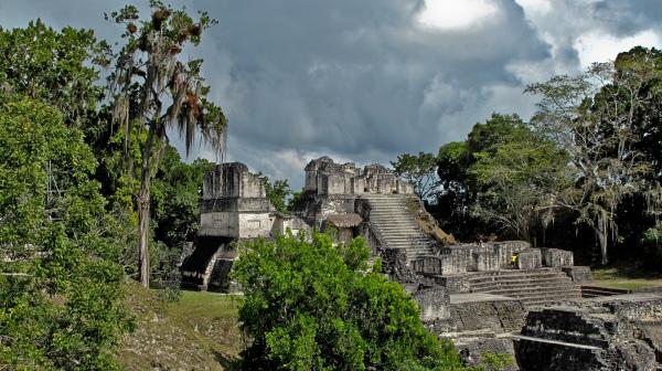 Maya Stadt Tikal (Guatemala) - TausP.