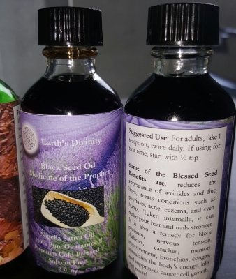 "Black Seed Oil - ""Medicine of the Prophet"""