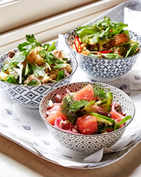 Ever changing Seasonal Salads
