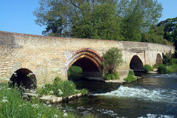 13th Century Harrold Bridge